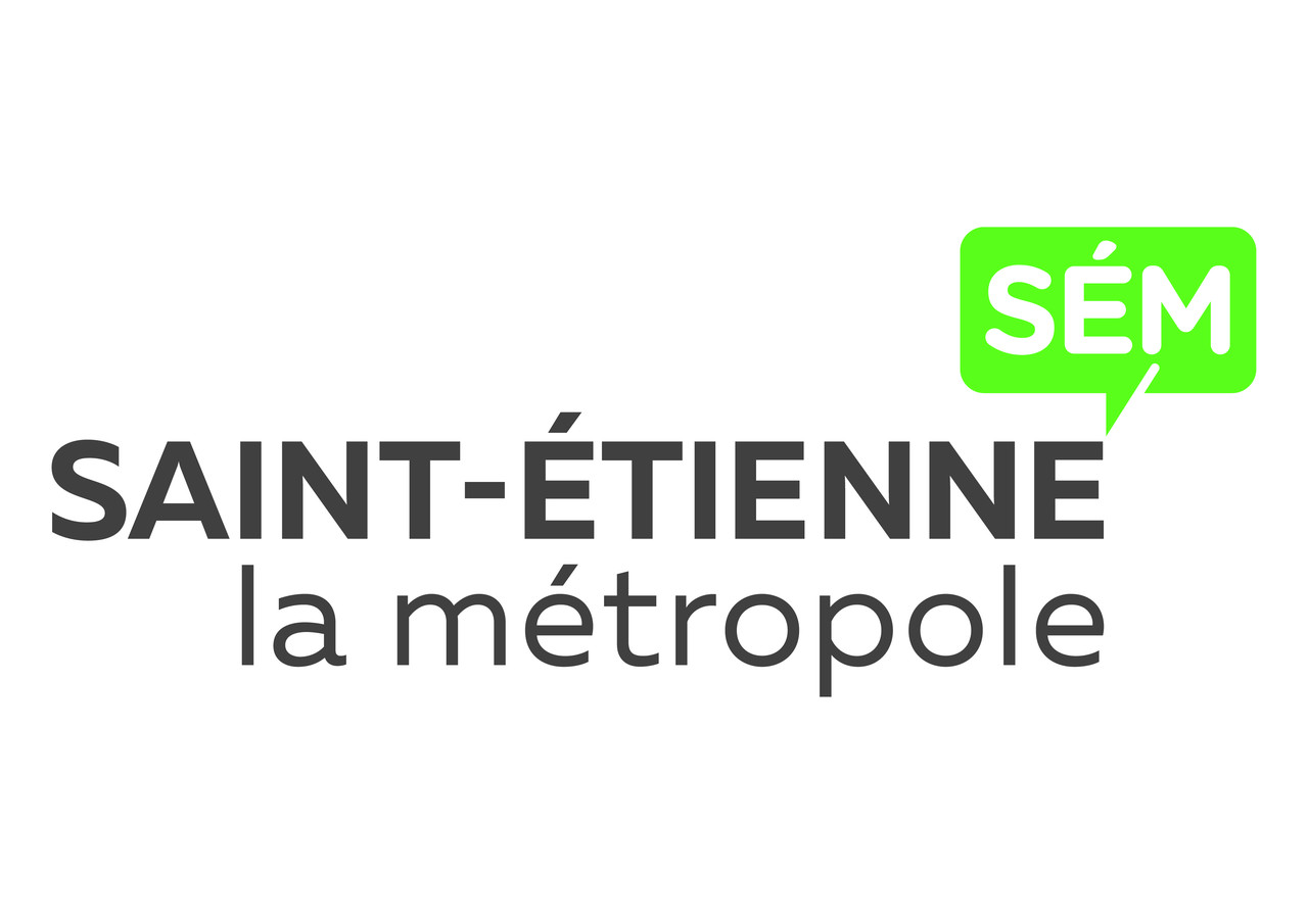 Logotype site officiel de saint etienne m tropole - Metro bureau saint etienne ...