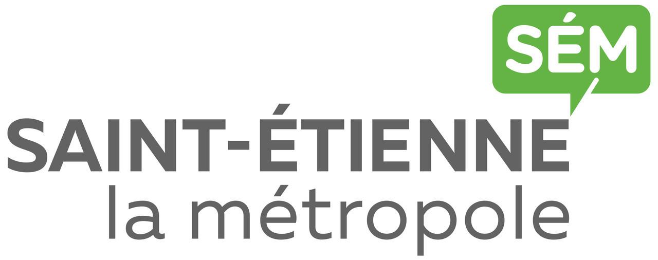 logotype site officiel de saint etienne m tropole. Black Bedroom Furniture Sets. Home Design Ideas