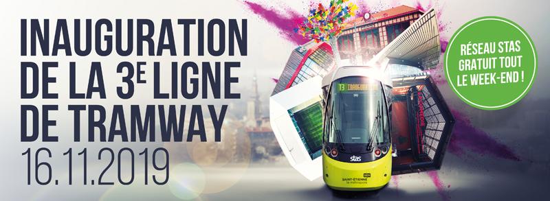 Inauguration de la 3e ligne de tramway