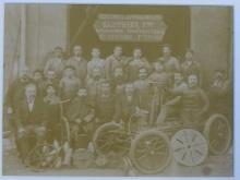 Personnel des frères Gauthier © Collection du Musée d'art et d'Industrie